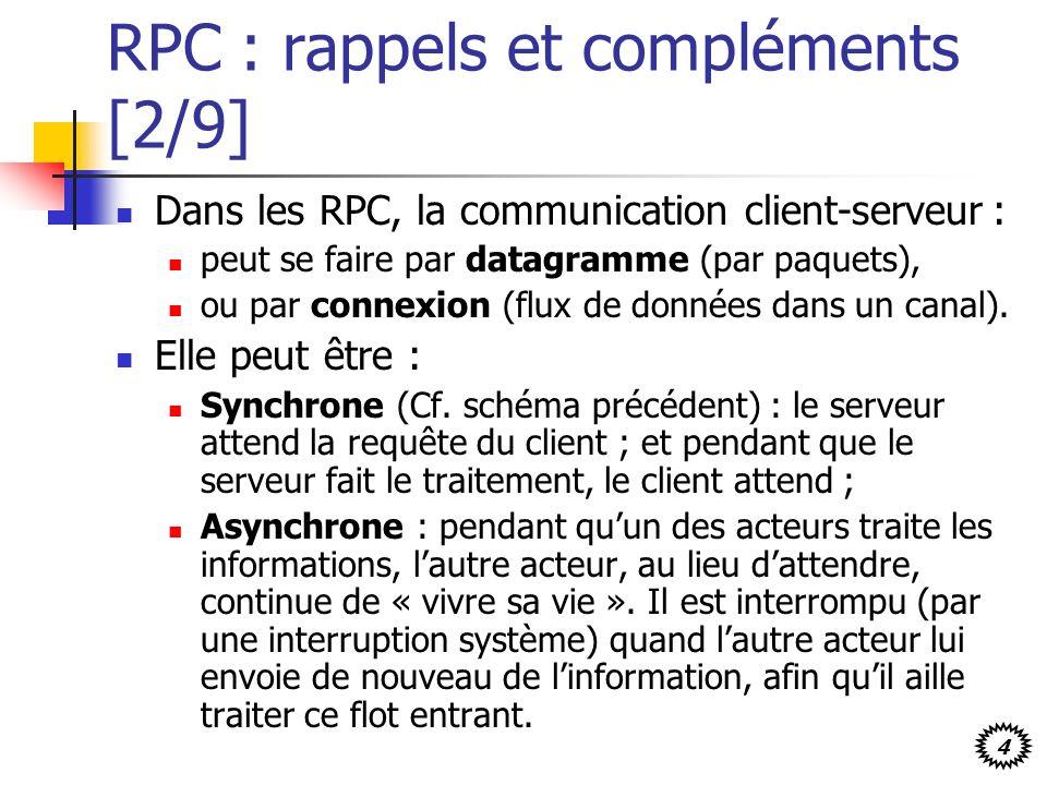 RPC : rappels et compléments [2/9]